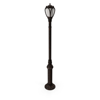 New York Street Lamp PNG & PSD Images