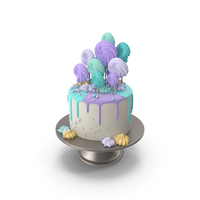 Colorful Birthday Cake PNG & PSD Images