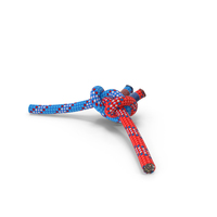 Alpine Butterfly Bend Knot Colored PNG & PSD Images