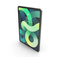 Apple iPad Air 4 2020 Green PNG & PSD Images