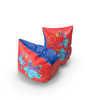 Colorful Swimming Float Armbands PNG & PSD Images