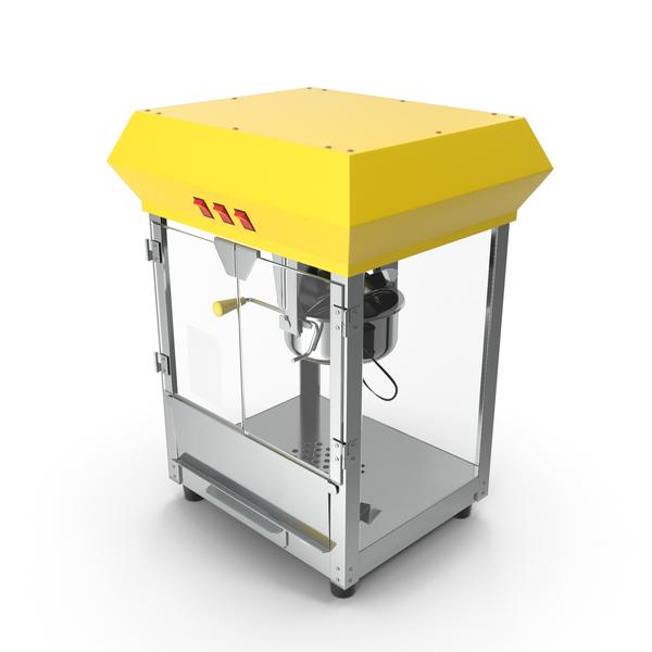 Empty Popcorn Popper Machine PNG & PSD Images