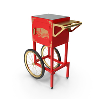 Great Northern Popcorn Cart PNG & PSD Images