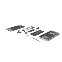 iPhone 11 Fully Disassembled PNG & PSD Images
