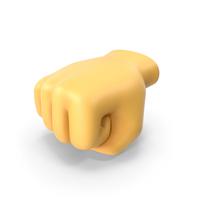 Left-Facing Fist Emoji PNG & PSD Images