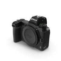 Nikon Z7 Mirrorless Digital Camera Body PNG & PSD Images