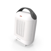 Portable Ceramic Heater White PNG & PSD Images