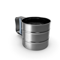 Stainless Steel Flour Sifter PNG & PSD Images