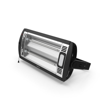 Wall Mount Quartz Tube Heater PNG & PSD Images