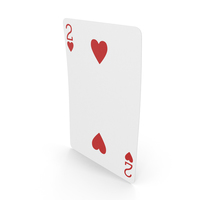 Playing Cards 2 of Hearts PNG & PSD Images