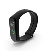 Xiaomi Mi Smart Band 4 Fitness Tracker PNG & PSD Images