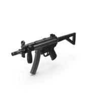 Sub Machine Gun PNG & PSD Images
