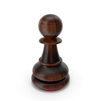 Pawn Dark Red PNG & PSD Images