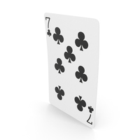 Playing Cards 7 Clubs PNG & PSD Images