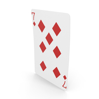 Playing Cards 7 of Diamonds PNG & PSD Images