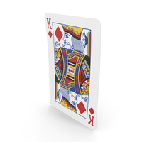 Playing Cards King of Diamonds PNG & PSD Images