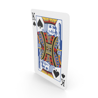 Playing Cards King of Spades PNG & PSD Images