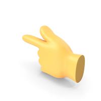 Backhand Index Pointing Left Emoji PNG & PSD Images