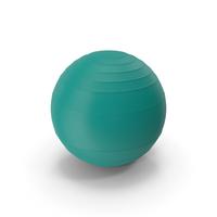 Pilates Ball Light Green PNG & PSD Images