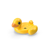 Duck Island Float Pool Lounger PNG & PSD Images