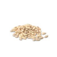 Peeled Sunflower Seeds Pile PNG & PSD Images