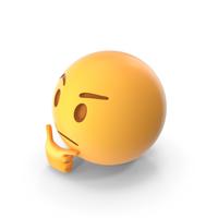 Thinking Emoji PNG & PSD Images