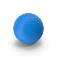 Pilates Ball Blue PNG & PSD Images