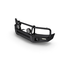 Black Steel Bullbar PNG & PSD Images