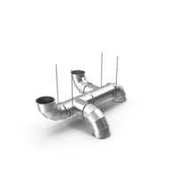 Air Ventilation Pipe System PNG & PSD Images
