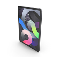 Apple iPad Air 4 2020 Space Gray PNG & PSD Images