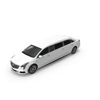 Cadillac Six Door Limousine PNG & PSD Images