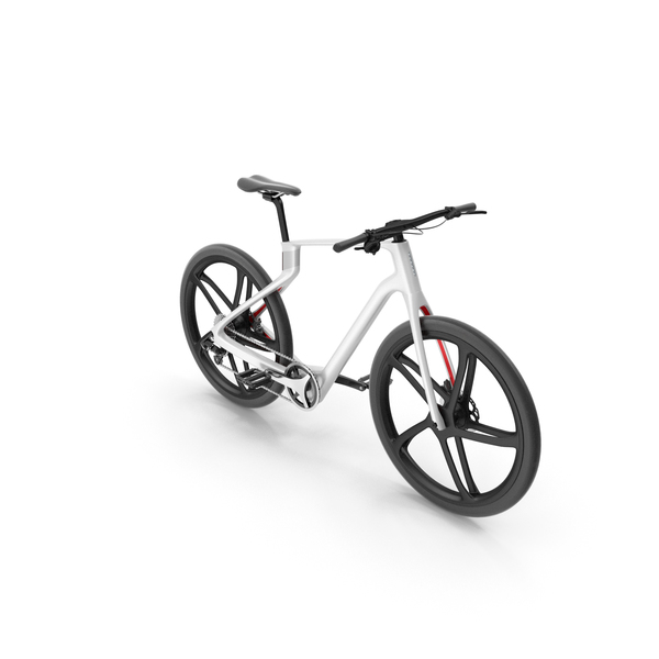 Carbon Electric Road Bike White PNG & PSD Images