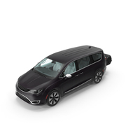 Family Minivan with Hitch Cargo Carrier PNG & PSD Images