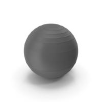 Pilates Ball Grey PNG & PSD Images