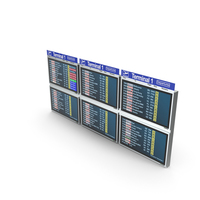 Flight Information Display System PNG & PSD Images