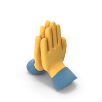 Folded Hands Emoji PNG & PSD Images