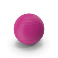 Pilates Ball Purple PNG & PSD Images