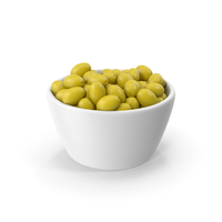 Bowl With Green Olives PNG & PSD Images