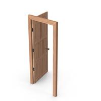 Door Open Cherry Wood PNG & PSD Images