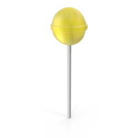 Lolipop Yellow PNG & PSD Images