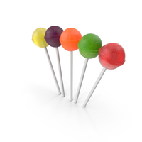 Small Pile of Lollipops PNG & PSD Images