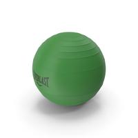 Pilates Ball Everlast Green PNG & PSD Images