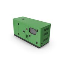 Diesel Generator Green PNG & PSD Images