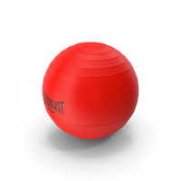 Pilates Ball Everlast Red PNG & PSD Images