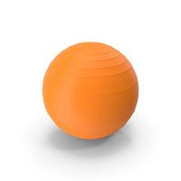 Pilates Ball Orange PNG & PSD Images