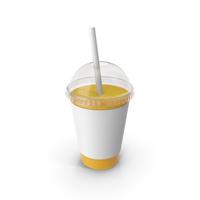 Juice Plastic Cup Orange PNG & PSD Images