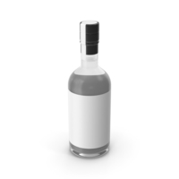Dry Gin Bottle PNG & PSD Images