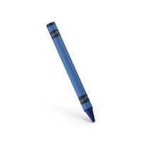 Crayon Dark Blue PNG & PSD Images