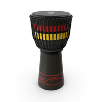 Meinl Percussion ADJ7L Wood Djembe African Style PNG & PSD Images