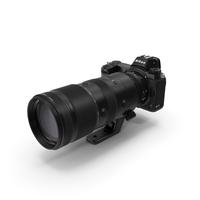 Nikon Z7 with NIKKOR Z 70 200mm f2.8 VR S Lens PNG & PSD Images